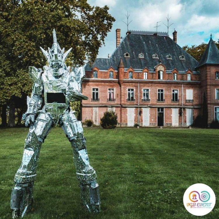 robot geant stardust chateau VGB EVENT