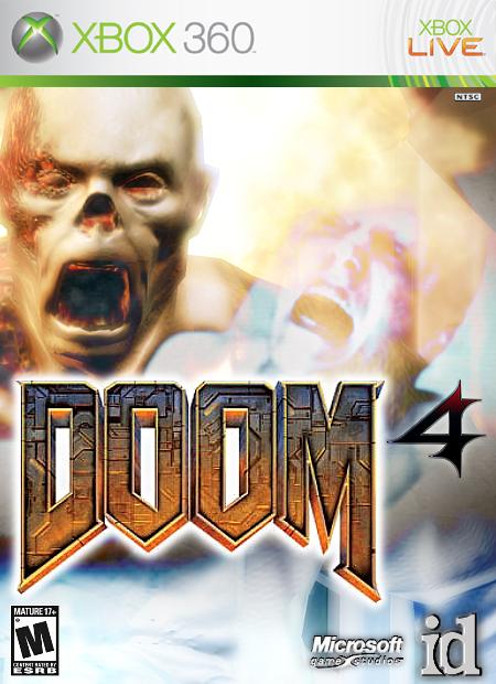 Doom 4 Xbox 360 Box Art Cover By Radioactive Bob
