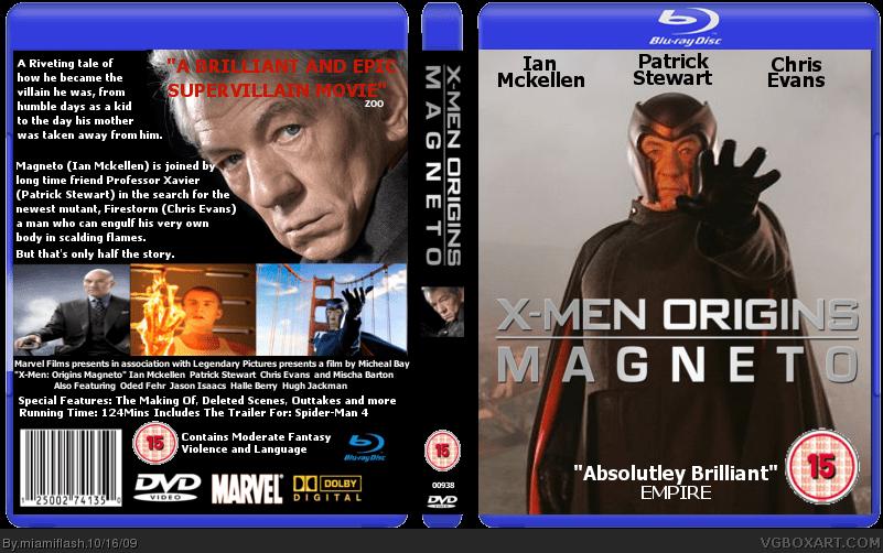 X Men Origins Magneto Movies Box Art Cover By Miamiflash