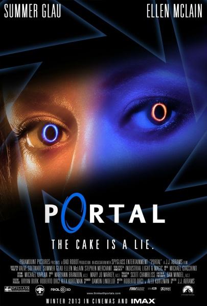 Portal Movies Box Art Cover By BigMachete