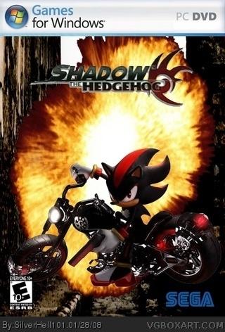 Shadow The Hedgehog PC Box Art Cover By SilverHell101