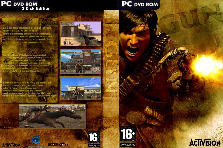 Gun PC Box Art Cover By Lodovicok