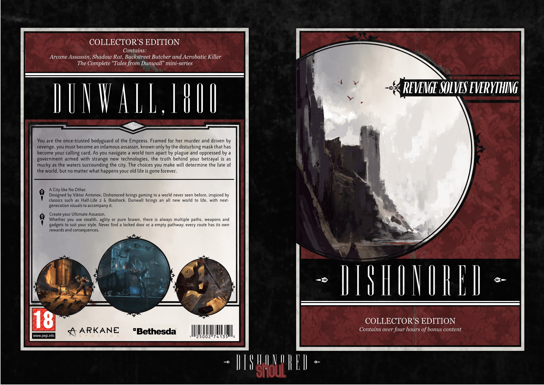 Dishonored PC Box Art Cover By Shoul