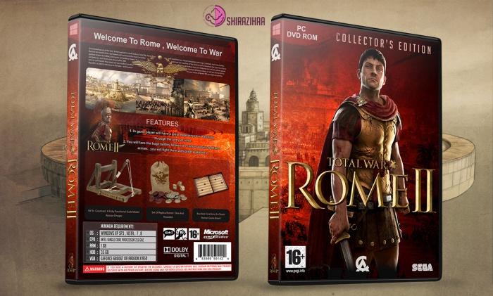 Total War Rome II PC Box Art Cover By Shirazihaa