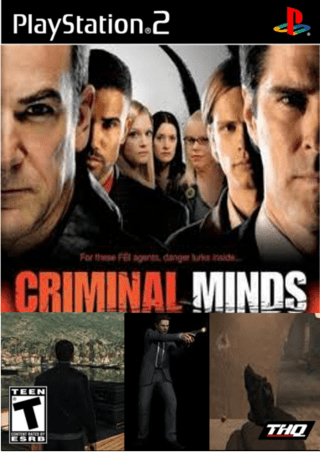 Criminal Minds PlayStation 2 Box Art Cover By TheAssassin101