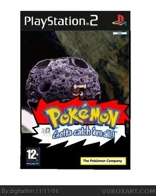 Pokemon 3D PlayStation 2 Box Art Cover By Digital6m