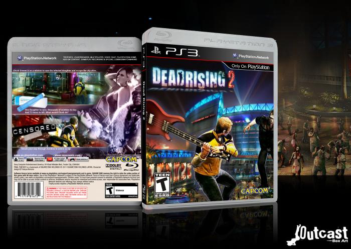 Dead Rising 2 PlayStation 3 Box Art Cover By 0utcast