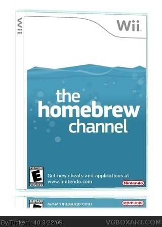 The Homebrew Channel Wii Box Art Cover By Tucker1140