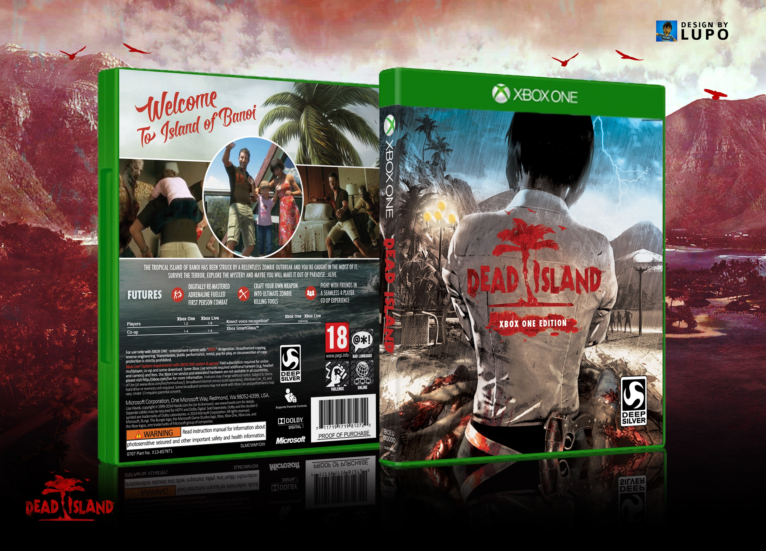 Dead Island Xbox One Edition Xbox One Box Art Cover By Lupo