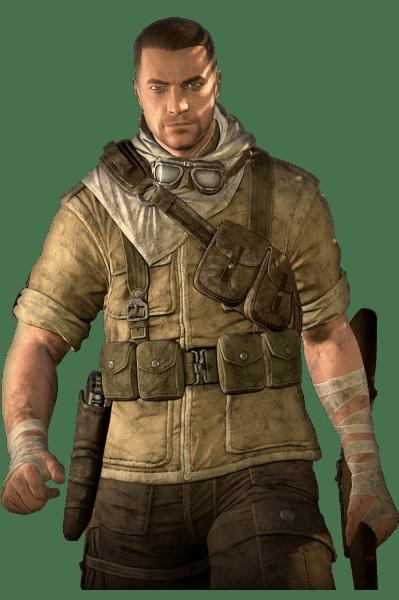 Sniper Elite 3 Render