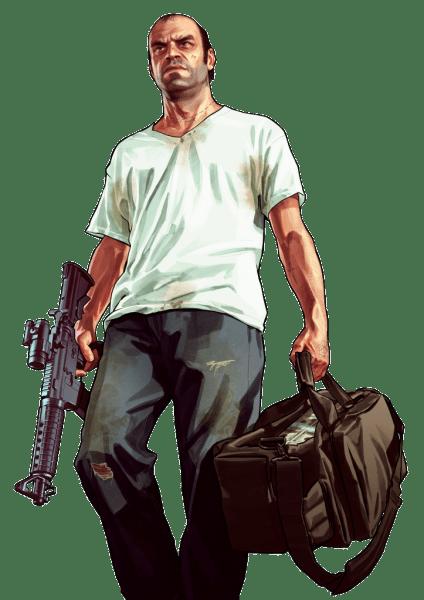 Grand Theft Auto V render