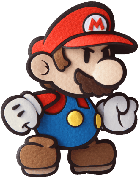 Paper Mario Sticker Star Render