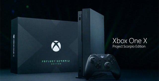 Pré-venda do Xbox One X Scorpio Edition começa hoje no Brasil