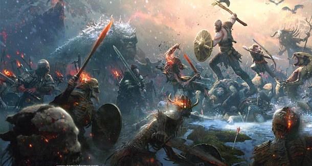 Muitas novidades do novo God of War
