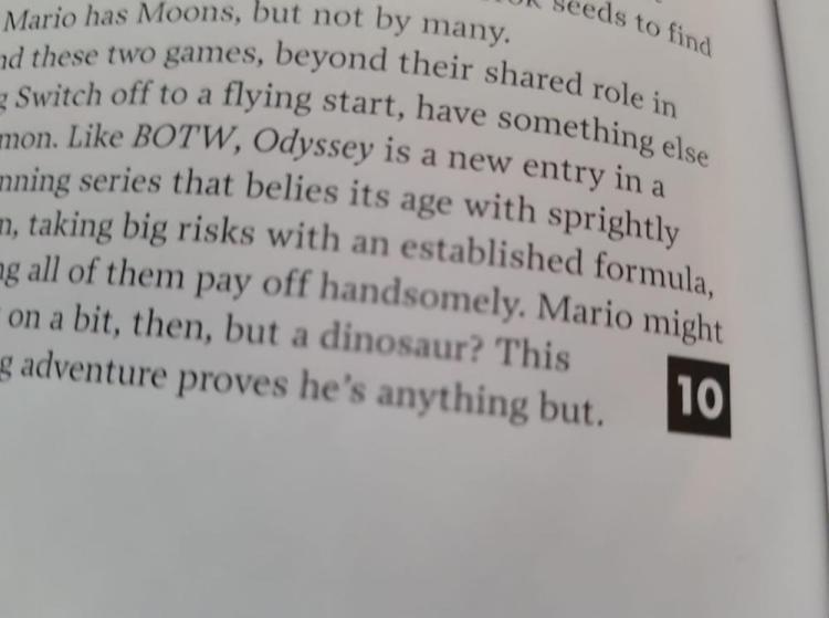 EDGE Reviews Super Mario Odyssey