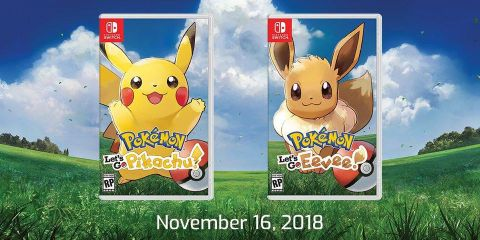 Nintendo Announces Pokemon Let's Go Pikachu