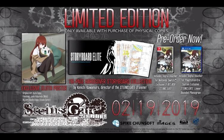 Steins;Gate Elite Story Trailer