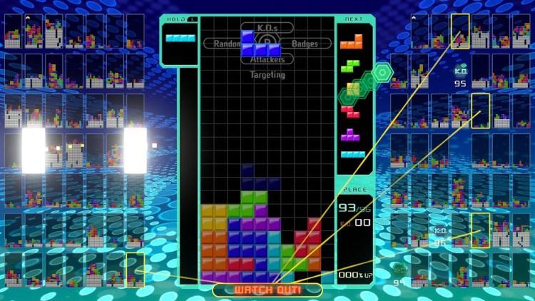 Tetris 99 is the Battle Royale We Deserve