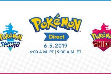 Pokemon Direct Announced for June 5