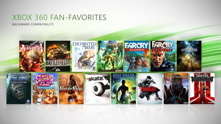 Xbox Backward Compatible