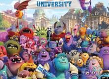 La pandilla universitaria de 'Monsters University' reunida en el nuevo póster