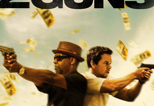 Mark Wahlberg y Denzel Washington se unen en '2 Guns'; trailer y póster