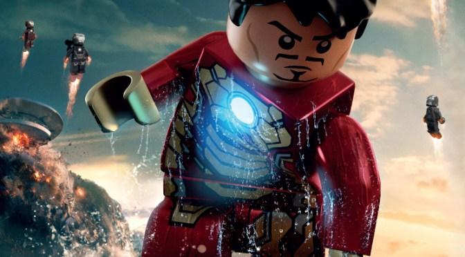 Pósters de 'Iron Man 3' versión LEGO
