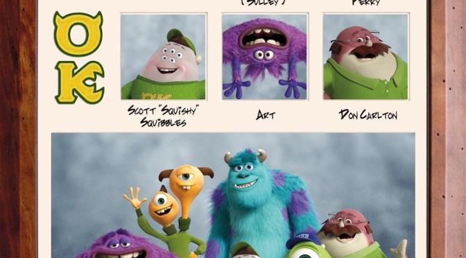 """Fotos de las fraternidades y sus miembros de """"Monsters University"""""""