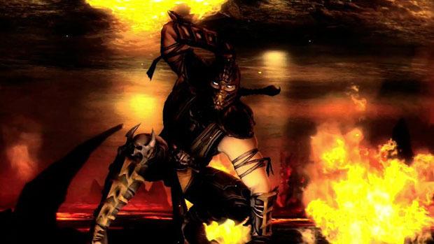 Scorpion de Mortal Kombat ahora en Injustice: Gods Among Us