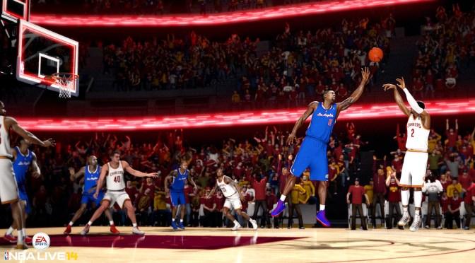 Avance del e3 de NBA LIVE 14 con EA Ignite
