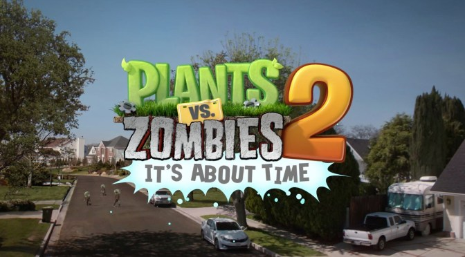 Reseña: Plants VS Zombies 2: It's About Time!