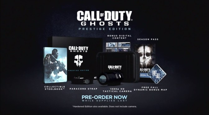 ¿Que incluirá la edición de prestigio de Call of Duty: Ghosts?