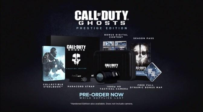 ¿Que incluirá la edición de prestigio de Call of Duty: Ghosts?