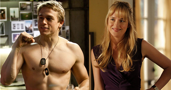 Charlie Hunnam y Dakota Johnson protagonizarán 'Fifty Shades of Grey'