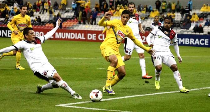 América se cae en la Liga de Campeones de la CONCACAF