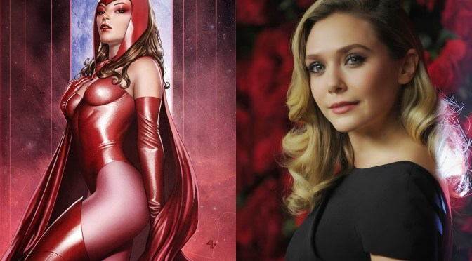 Samuel L. Jackson confirma a Elizabeth Olsen como 'La Bruja Escarlata' en 'Avengers: Age of Ultron'