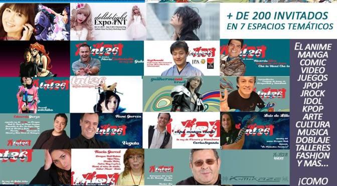 Expo TNT 26 Expo Manga mas que lista y llena de sorpresas