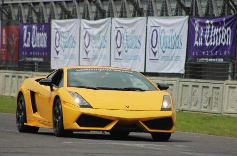 Lamborghini Gallardo en pista