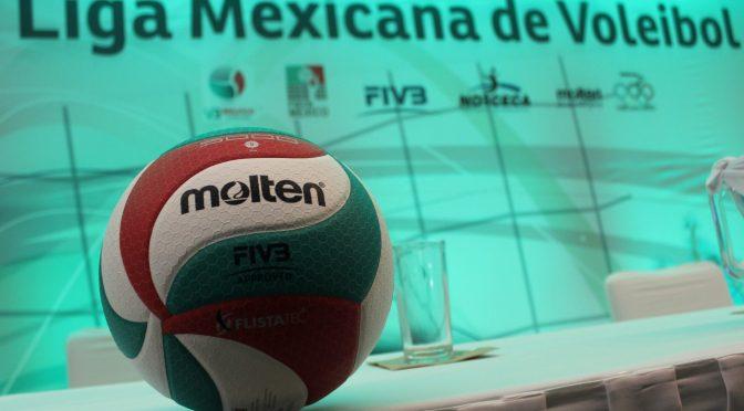 Presentación de la Liga Mexicana de Voleibol