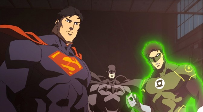 Tráiler de Justice League War