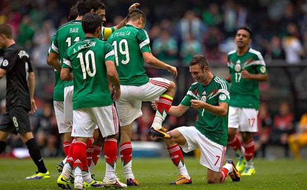 México con medio boleto, rumbo al Mundial Brasil 2014