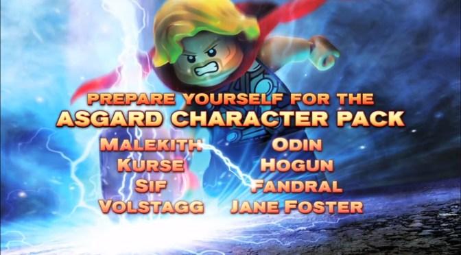 Nuevo avance de LEGO Marvel Super Heroes que promueve el DLC Asgard Character Pack