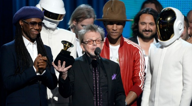 Daft Punk máximo galardonado en los Grammy 2014