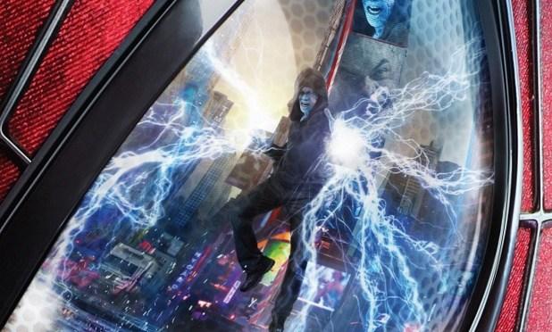 Nuevos pósters de 'El Sorprendente Hombre Araña 2'; batalla en Times Square