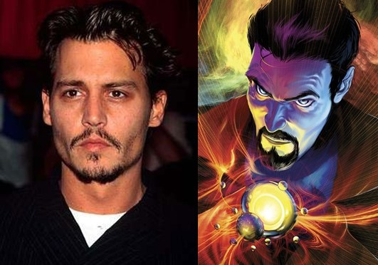 [Rumor] Johnny Depp se reunió con Marvel para 'Doctor Strange'