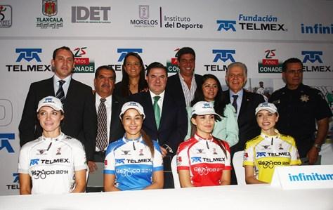 La Vuelta México Telmex 2014 arranca el 4 de marzo Foto: CONADE