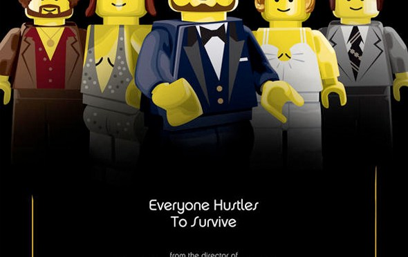 Pósters de las películas nominadas al Oscar en versión LEGO