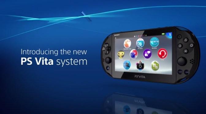 El PlayStation Vita Slim también llegará a América