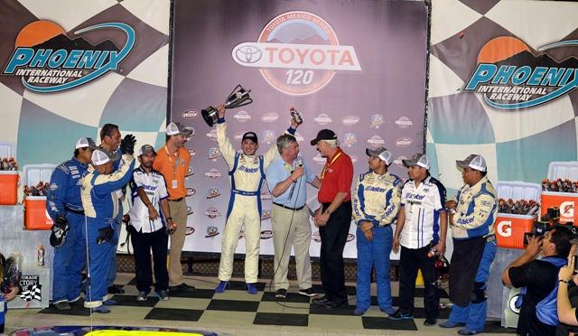 DANY SUÁREZ TAMBIÉN INICIÓ CON FUERZA EN NASCAR TOYOTA SERIES
