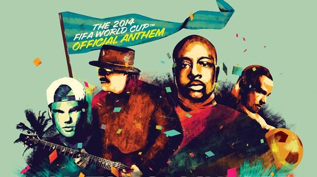 Carlos Santana, Wyclef, Avicii y Pires interpretarán el himno de Brasil 2014